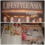Aquino-Gomez wedding featured on Lifestyle Asia Magazine (December-January 2013) Issue