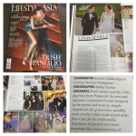 Wedding of Kris Sevilla Casas and Luigi Casas featured on Lifestyle Asia Magazine